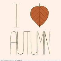 I♥AUTUMN | via Tumblr