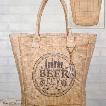 Beer City Market Bag