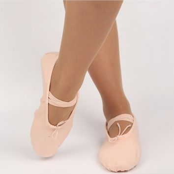 Adult Child Professional Ballet Pointe Dance Shoes Women Girls Soft Sole Ballet Shoes Dacing Training Shoes Size 26-42