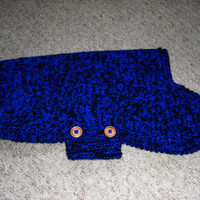 """Poodle large xl hand knit dog sweater / coat 19"""" long, standard poodle sweater,xl dog sweater, large dog clothes, knitted dog sweater"""