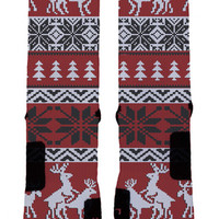 Ok Sock | Ugly Christmas Socks- Jordan Elites