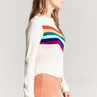 Rainbow Graphic Sweater