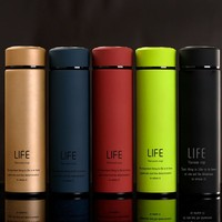Stainless Steel Life Water Bottle