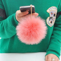 Kawaii dust plug ear cap  Ostrich fur by Harvard5f on Etsy