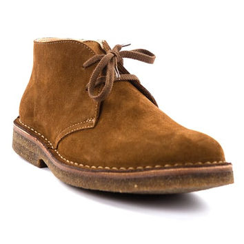 Dark Khaki Desert Boot