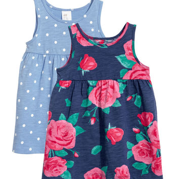 H&M 2-pack Jersey Dresses $9.99