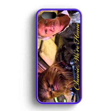 Star Wars The Force Awakens Chewie Were Home Han Solo Cover iPhone 5 Case iPhone 5s Case iPhone 5c Case
