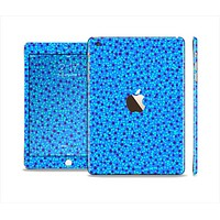 The Small Scattered Polka Dots of Blue Full Body Skin Set for the Apple iPad Mini 3
