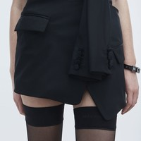 Alexander Wang TUXEDO SKIRT SKIRT | Official Site