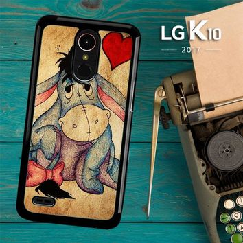 Eeyore Wallpaper Y0311 LG K10 2017 / LG K20 Plus / LG Harmony Case