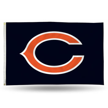 Chicago Bears NFL 3ft x 5ft Banner Flag