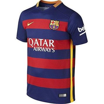 Nike Boys Barcelona Home Stadium Jersey [loyal Blue]