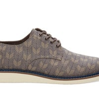 TOMS Grey Sashiko Men's Brogues
