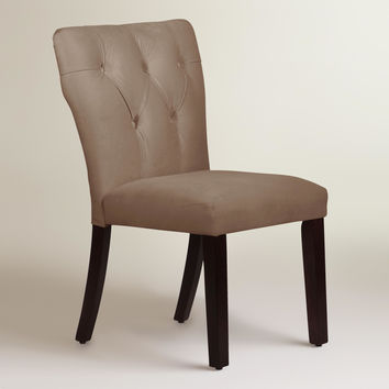 Velvet Tufted Gabie Dining Chair - World Market