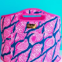 Lilly Pulitzer Oversized Insulated Beverage Bucket-Cute As Shell