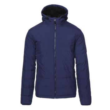 MEN'S LIGHT DOWN JACKET WITH SHERPA LINING