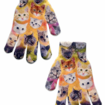 Galaxy Cats Gloves