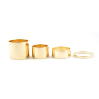 """All-4-One"" Stackable Rings"
