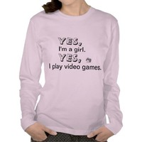 Girl Gamer from Zazzle.com