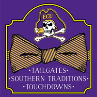 Southern Couture University of East Carolina ECU Pirates Classic Preppy Bow Girlie Bright T Shirt