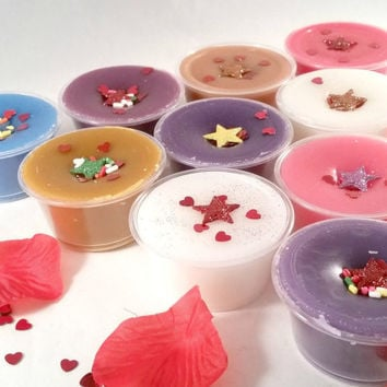 Smell Goods Valentine's Day Sampler Wax Melt Box - Wax Warmer Cups - Candle Melts - Wax Tarts - Sensual Valentine's Day Scents - Florals