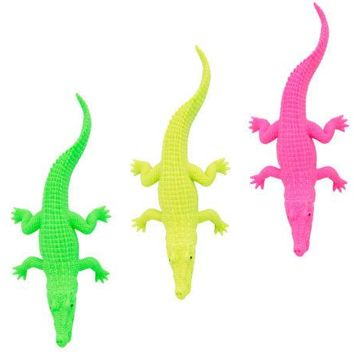 Neon Crocodile Toy Party Favor ( Case of 72 )