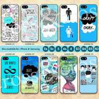 The Fault in Our Stars, John Green, iPhone 5 Case, iPhone 5C Case, iPhone 5S Case,iPhone 4 Case, iPhone 4s Case John Green iPhone case A0998