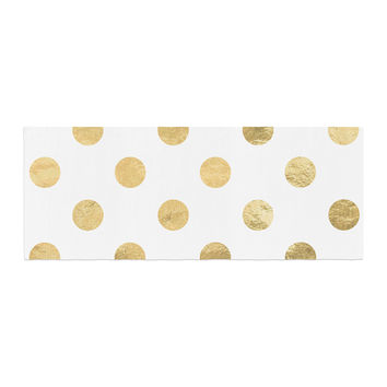 "KESS Original ""Scattered Gold"" Bed Runner"