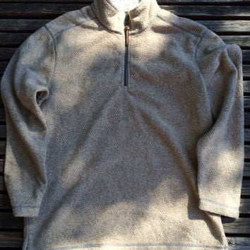 True Grit Fleece 1/4 Zip Pullover - Melange Blanket Solid (2 Colors) - The Shirt Shop - The Shirt Shop Tuscaloosa's store for Elephant Wear and Game Day Apparel