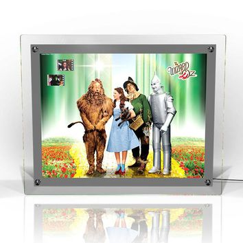 Wizard of Oz Acrylic LightCell LE 500 Dorothy Scarecrow Lion Tin Man and Totl