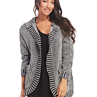 Chunky Knit Hooded Cardi | Wet Seal
