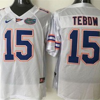 Nike Florida Gators Tebow #15 College Jerseys Size Mlxlxxl3xl