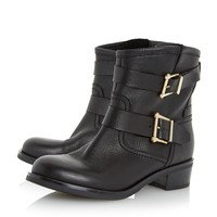 DUNE LADIES PHILEE - Buckle Detail Ankle Boot - black | Dune Shoes Online