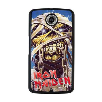 iron maiden nexus 6 case cover  number 1