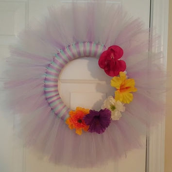 Spring Themed Door Wreath