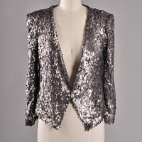 Power Moves Sequin Jacket