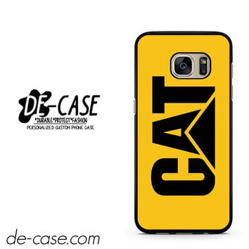 Yellow Caterpillar Logo DEAL-12123 Samsung Phonecase Cover For Samsung Galaxy S7 / S7 Edge