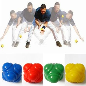 Silicone Hexagonal Reaction Ball Sensitive Ball Speed Agility Training Workout Equipment