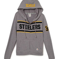 Pittsburgh Steelers Perfect Full-Zip - PINK - Victoria's Secret
