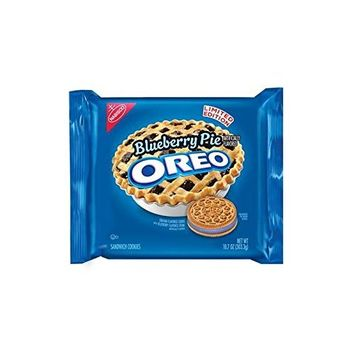NABISCO OREO LIMITED EDITION BLUEBERRY PIE COOKIES ( 1 PACK )