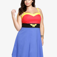 Wonder Woman Skater Dress