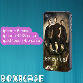 Supernatural TV Series--iphone 4 case,iphone 5 case,ipod touch 4 case,ipod touch 5 case,in plastic,silicone