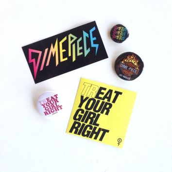 Treat Your Girl Right Decal Pack: DIMEPIECE DESIGNS STORE