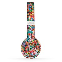 The Colorful Candy Sprinkles Skin Set for the Beats by Dre Solo 2 Wireless Headphones