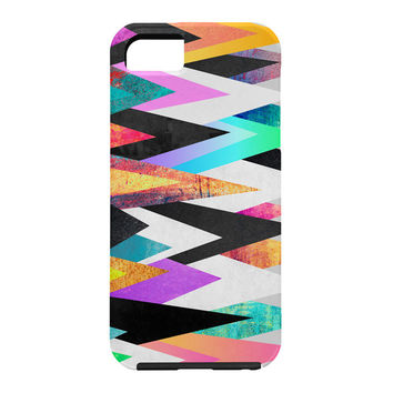 Elisabeth Fredriksson Colorful Peaks Cell Phone Case