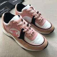 CHANL LV Double CC  Fashion Women  Casual Shoes Sneaker Sport Running Shoes AAA Quality