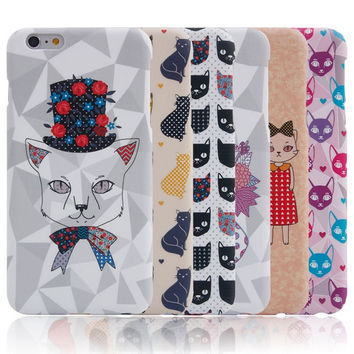 I am a Cat Handmade iPhone creative cases for 5S 6 6S Plus