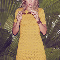 LEMON DROP T SHIRT DRESS