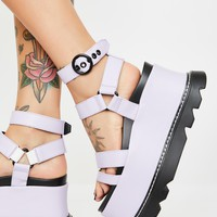 Keep Smiling BB Wedge Sandals