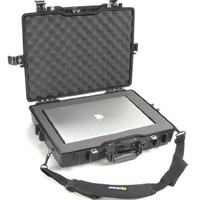 Pelican 1495 Black Computer Case with Foam (Black)